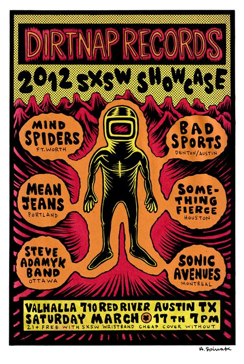 Dirtnap SXSW Showcase (Dan)