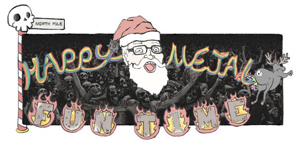 Happy Metal Fun Time: Christmas Edition (Chuck)